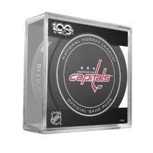 Washington Capitals 2017 Replica Game Puck with Case