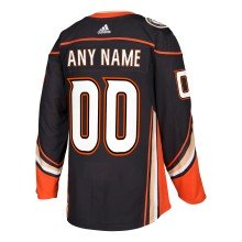 Anaheim Ducks ANY NAME adidas NHL Authentic Pro Home Jersey - Pro Stitched