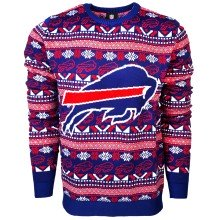 Buffalo Bills NFL Big Logo Ugly Crewneck Sweater