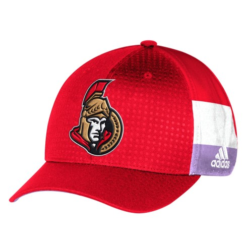 Ottawa Senators NHL adidas Hockey Fights Cancer Flex Cap