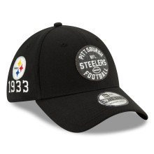 Pittsburgh Steelers New Era 2019 NFL On Field Home 39THIRTY Cap