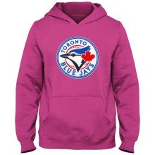 Toronto Blue Jays MLB YOUTH Express Twill Hoodie - Pink