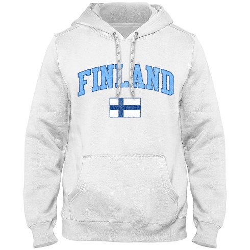 Finland MyCountry Vintage Premium Hoodie - White