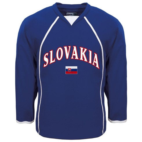 Slovakia MyCountry Fan Hockey Jersey