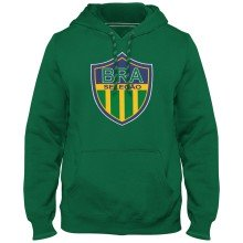 Brazil MyCountry Express Twill Logo Hoodie - Green