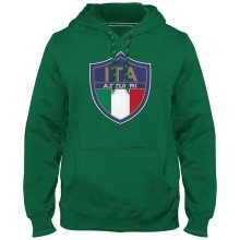 Italy MyCountry Express Twill Logo Hoodie - Green