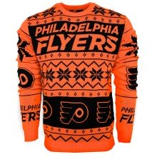 Philadelphia Flyers NHL Ugly Crewneck Sweater