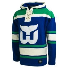 Hartford Whalers NHL '47 Heavyweight Jersey Lacer Hoodie