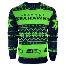 Seattle Seahawks NFL 2019 Ugly Crewneck Sweater