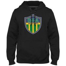 Brazil MyCountry Express Twill Logo Hoodie - Black