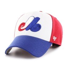 Montreal Expos '47 Cooperstown YOUTH Tri-Color MVP Cap | Adjustable