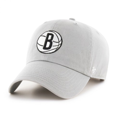 Brooklyn Nets NBA '47 Clean Up Cap - Storm | Adjustable