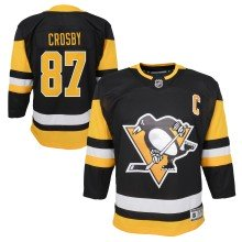 Sidney Crosby Pittsburgh Penguins NHL Premier CHILD (4-7) Replica Home Hockey Jersey