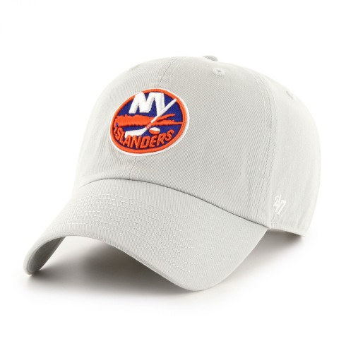 New York Islanders NHL `47 Clean Up Cap - Gray | Adjustable