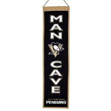Pittsburgh Penguins NHL MAN CAVE Wool Banner