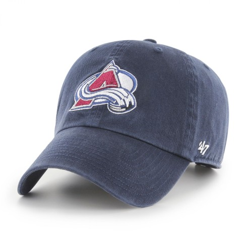 Colorado Avalanche NHL `47 Clean Up Cap - Navy | Adjustable
