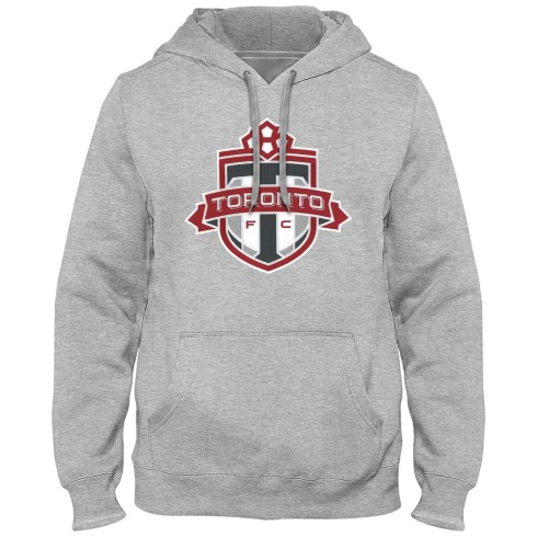 Toronto FC MLS Express Twill Logo Hoodie - Athletic Grey