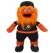 "Philadelphia Flyers Gritty Mascot 10"" NHL Plush Bleacher Creature - Black Jersey"