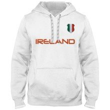 Ireland MyCountry Express Twill Home Field Hoodie - White