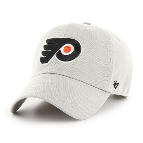Philadelphia Flyers NHL `47 Clean Up Cap - Gray | Adjustable