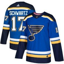 Jaden Schwartz St. Louis Blues adidas NHL Authentic Pro Home Jersey - Pro Stitched