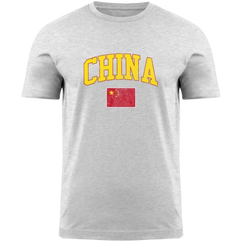 China MyCountry Vintage Jersey T-Shirt - White