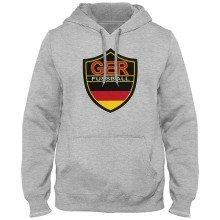 Germany MyCountry Express Twill Logo Hoodie - Athletic Gray
