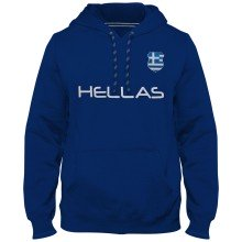 Greece MyCountry Express Twill Home Field Hoodie - Royal
