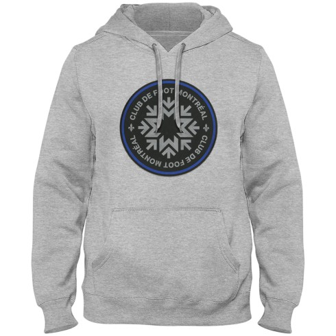 FC de Montréal MLS Express Twill Logo Hoodie - Athletic Grey
