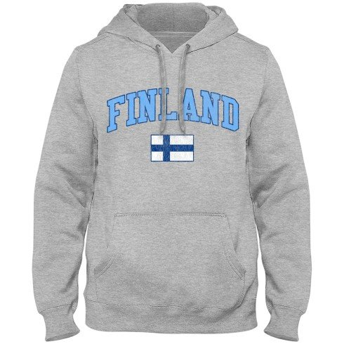 Finland MyCountry Vintage Premium Hoodie - Athletic Gray