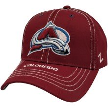 Colorado Avalanche NHL Zephyr Goal Line Cap | Adjustable
