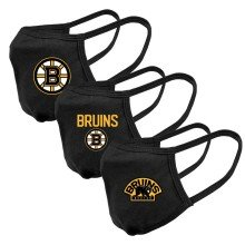 Masque de couverture visage Guard-2 - paquet de 3 des Bruins de Boston