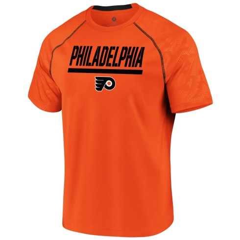 Philadelphia Flyers NHL Team Mission Synthetic T-Shirt