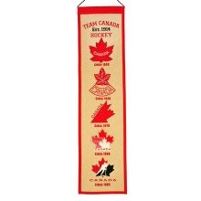 Team Canada Logo Heritage Wool Banner