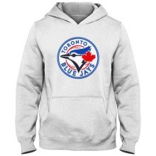 Toronto Blue Jays MLB YOUTH Express Twill Hoodie - White
