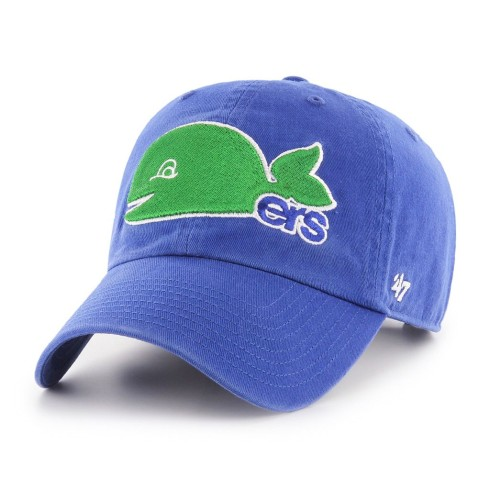 Hartford Whalers NHL `47 Clean Up Alternate Cap - | Adjustable