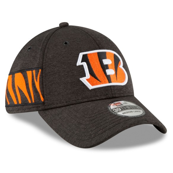 Cincinnati Bengals New Era 2018 NFL On Field Home 39THIRTY Cap