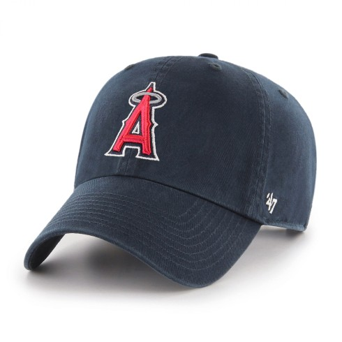 Los Angeles Angels MLB '47 Clean Up Cap - Navy | Adjustable