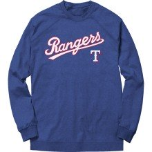 Texas Rangers MLB Express Twill Applique Home Field Crew - Royal Blue
