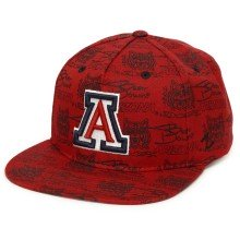 Arizona Wildcats NCAA Zephyr Manic Snapback Cap | Adjustable
