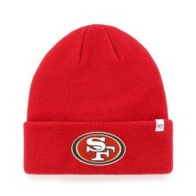 San Francisco 49ers NFL '47 Raised Cuff Knit Primary Beanie
