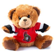 Ottawa Senators NHL 7.5 inch Seated Jersey Sweater Bear