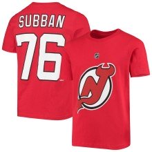 New Jersey Devils PK Subban NHL YOUTH Player Name & Number T-Shirt