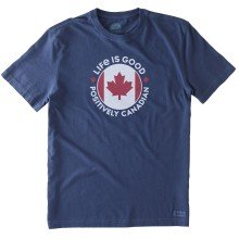 Life is Good Men's Canada Positively Canadian Crusher Tee
