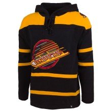 Vancouver Canucks 1985 NHL '47 Heavyweight Jersey Lacer Hoodie