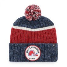 Quebec Nordiques NHL '47 Holcomb Cuff Pom Knit Hat