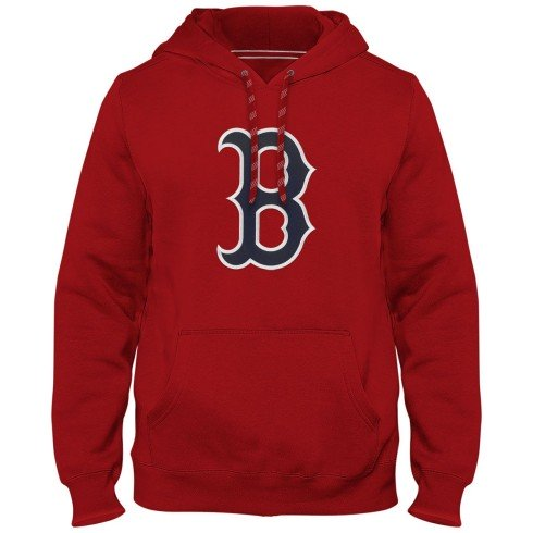 Boston Red Sox Express Twill Logo Hoodie - Red