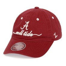 Alabama Crimson Tide Women's NCAA Zephyr Cotton Slouch Cap | Adjustable