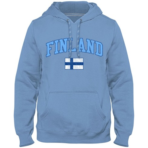 Finland MyCountry Vintage Premium Hoodie - Light Blue
