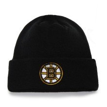Boston Bruins NHL '47 Raised Cuff Knit Primary Beanie